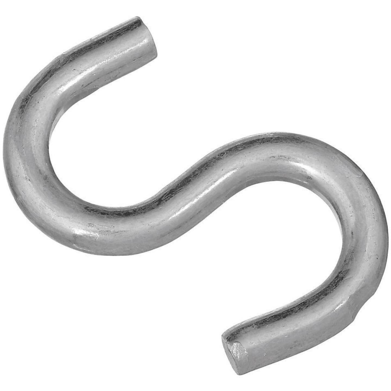 National 2-1/2 In. Zinc Heavy Open S Hook Image 1