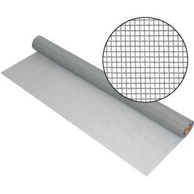 Phifer 36 In. x 100 Ft. Gray Fiberglass Mesh Screen Cloth