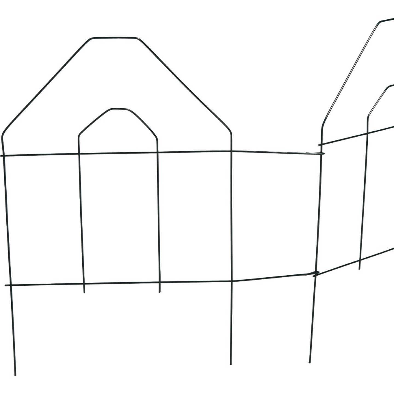 Best Garden 8 Ft. Green Galvanized Wire Folding Fence Image 3